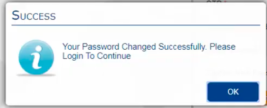 UBI FASTag password change